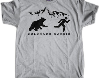 Men's Colorado Cardio Bear T-Shirt