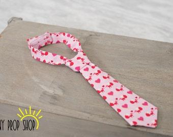 Baby Neck Tie in Valentine's Day, Baby Boy Clothing, Baby Boy Cake Smash, Heart Tie, Child Tie, Baby Tie, Prop, Child Tie, Baby Tie