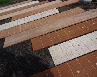 reclaimed lapsteel guitar fingerboard