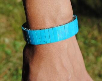 Turquoise extensible bracelet