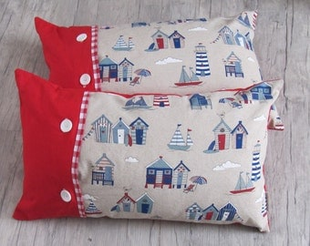 "Pillow Cover 30x50cm (12""x20""), Throw pillow, Cushion, Marine decoration,home decoration, nautical decoration,house warming, summer house,"