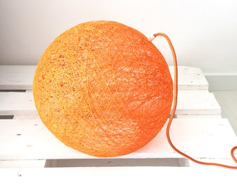 """Table lamp with switch and plug - Sphere table lamp - Contemporary floor lamp - Scandinavian design lamp - SPHERE (14 """"-35 cm)"""