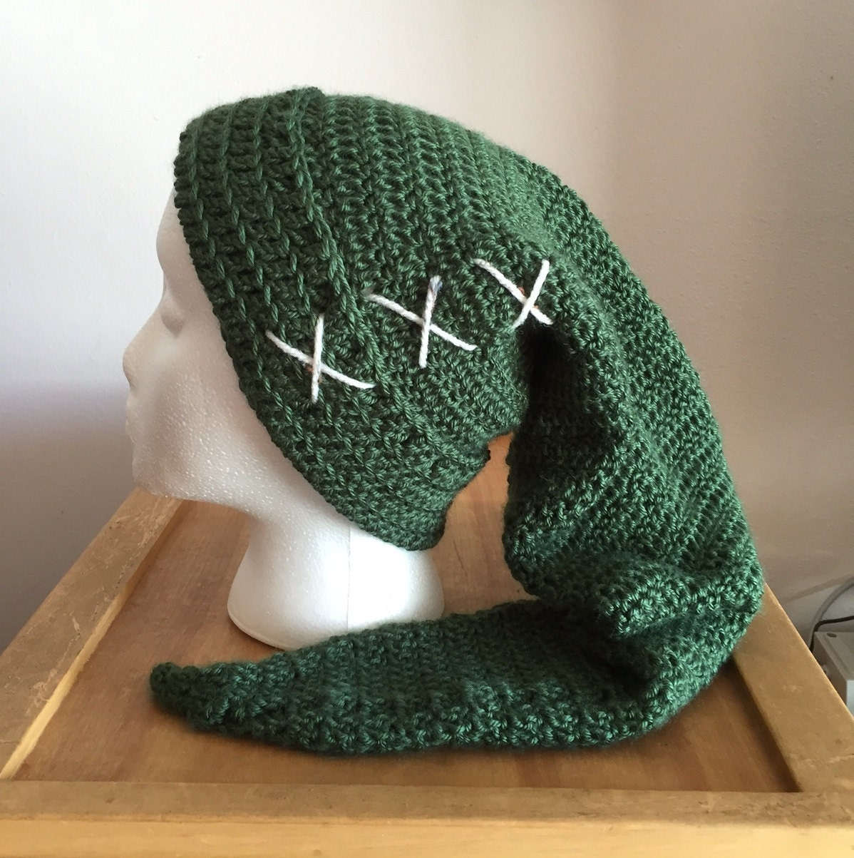 Free Crochet Pattern Link Hat : Legend of Zelda Link Tribute Crochet Hat by HappyCritterHats