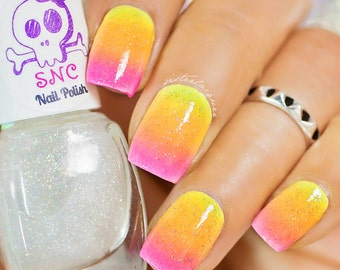 Star Dust-Scattered Holographic Top Coat