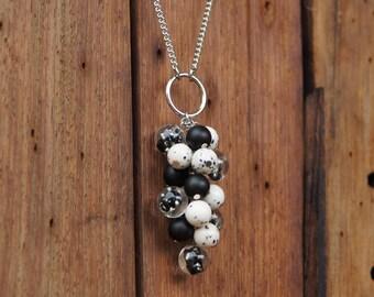 Deep Sea Bubbles Clutch Necklace