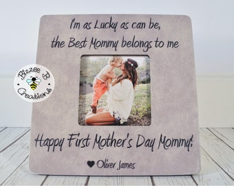 Mother's Day Gift for Mom, I'm As Lucky As Can Be, Best Mommy, First Mother's Day Gift, Birthday Gift for Mom, Mother's Day, New Mom Gift
