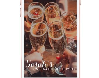 Custom Snapchat Filter / Design - Simple Bachelorette Party