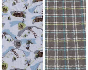 Fleece Kids Ski Blanket(K68)