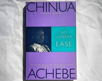 No Longer At Ease by Chinua Achebe Vintage 1994 Book