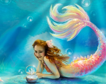 Custom mermaid