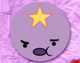 Lumpy Space Princess Adventure Time Sticker