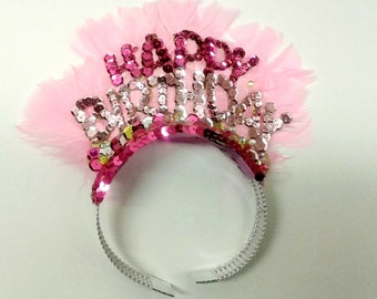Embellished Birthday Crown / Headband