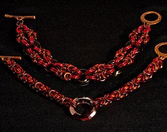 Autumn Byzantine Bracelets
