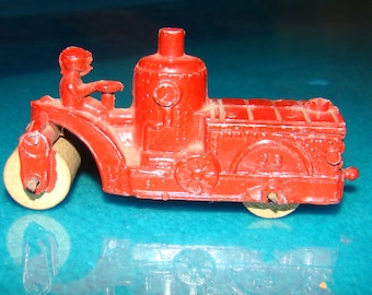 Rare kansas toy & novely prewar steam roller (manufatured in kansas usa)