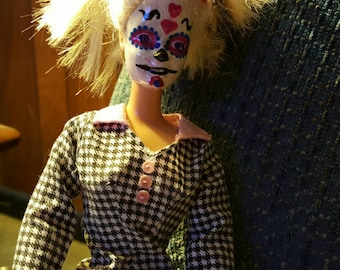 Vintage Day of the Dead Barbie