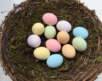 Pastel Bird Eggs