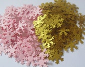 Pink and Gold Snowflake C...
