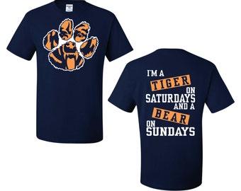 Tigr on Saturdays Bear on Sundays