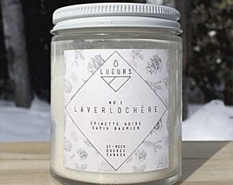 Candle - Laverlochère (black spruce + balsam fir)