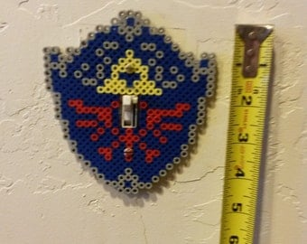 Hylian Shield light switch cover