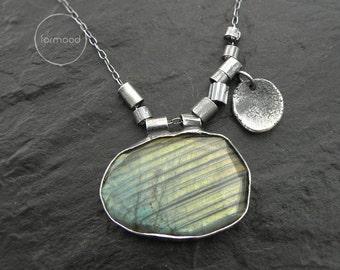 Labradorite  - necklace