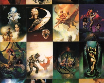 Boris Vallejo BORIS Series II Trading Card Set : Complete 90 Card Set Comic Images 1992