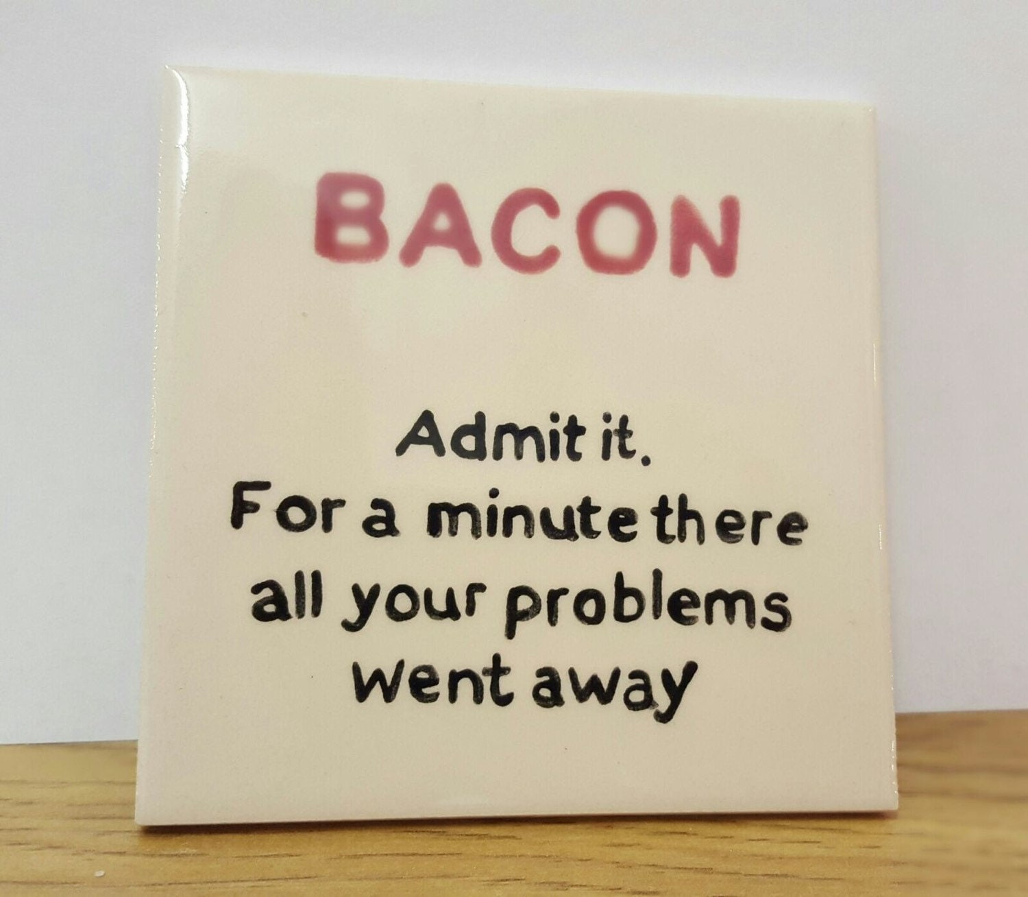 Tile Funny Quotes : Funny quotes hand painted ceramic coaster tile
