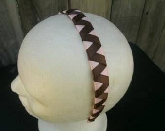 Satin Ribbon woven Headband
