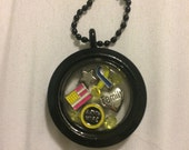 Army Wife Military Love Floating Charm Memory Locket Gifts For Her Christmas Gift Military Ball