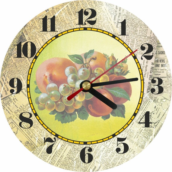 Wall Clock Wall Decor Rustic Home Decor Rustic By