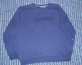 PRICE DROP! New Balance - Purple Pullover Sweatshirt / Jumper - XL - Sloppy Joe at the tracks, super comfy