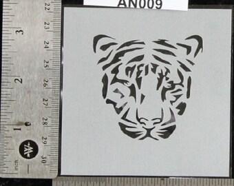 """Tiger Stencil 3-1/2"""" x 3-1/2"""", 7 mil - AN009"""