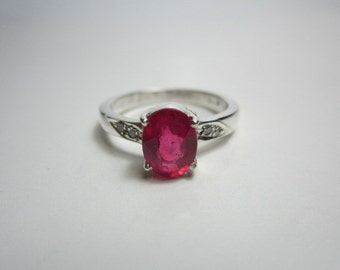 ruby and diamond ring, BEAUTIFUL RUBY RING woow