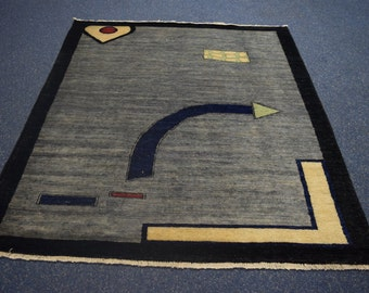 Stunning Hand knotted Gabbeh Oriental rug