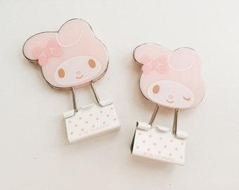 CUTE binder clips