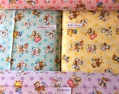 """Dear Little World - Polka Dot Retro Fabric by Quilt Gate - BTY or 1/2 yard - 100% Cotton -44/45"""" Choice of Color"""