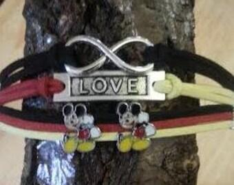 Mickey Mouse Charm Bracelet