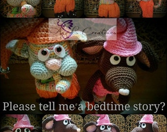 Bedtime Story Sweeties Cat & Mouse