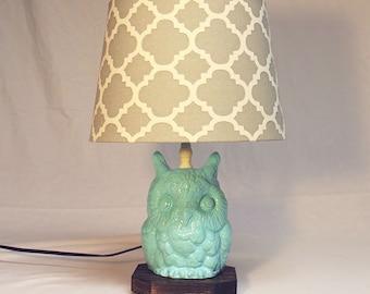 Modern Owl Lamp