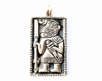 Viking vendel helment VIKING KRISTALL silver pendant