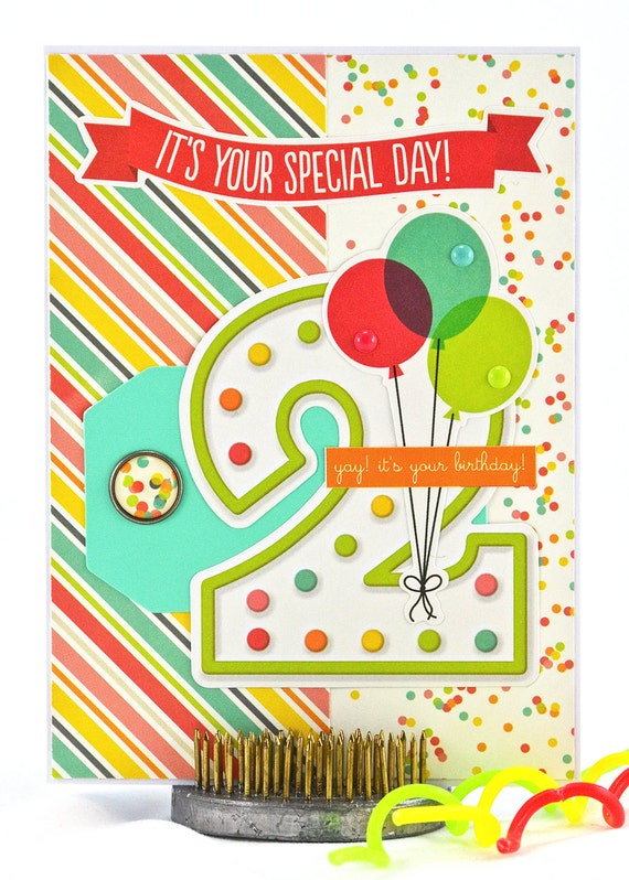 Little Girl Birthday Cards gangcraftnet – 2nd Birthday Cards