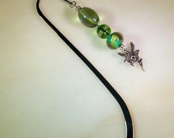 Fairy beaded bookmark-J110