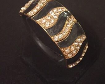 "Fitbit Flex Charge HR Cover Bracelet ""Betty"" TrackerStackers - Two Toned Gold & Silver Enhancer Jawbone Up Up2 Garmin Vivosmart"