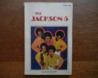 The Jackson 5 by Ellen Motoviloff ~ 1972 ~ Scholastic Book Services