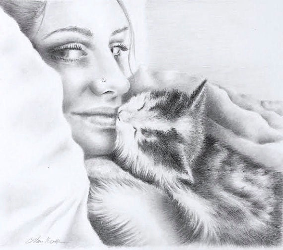 Custom Realistic Pencil Portrait - I will work with you to capture your favorite memories