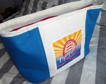 Weekender Nautical Bag - Recycled Sail Cloth