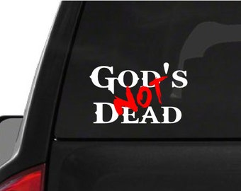 God's Not Dead (M52) Vinyl Decal Sticker Car Window
