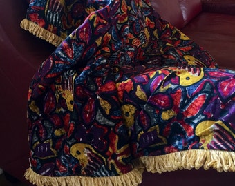Batik Paradise Luxury Throw Blanket