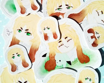 Hetalia Bunny England stickers (detailed)