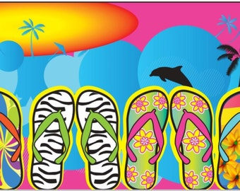 30x60 Flip Flops Beach Towel